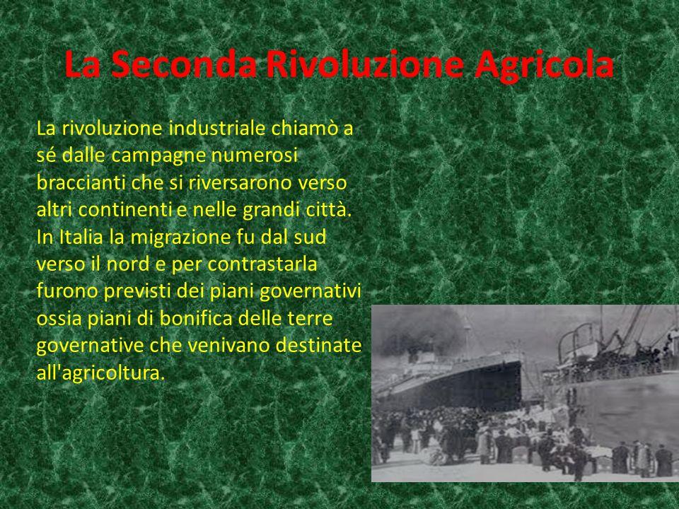 La Seconda Rivoluzione Agricola