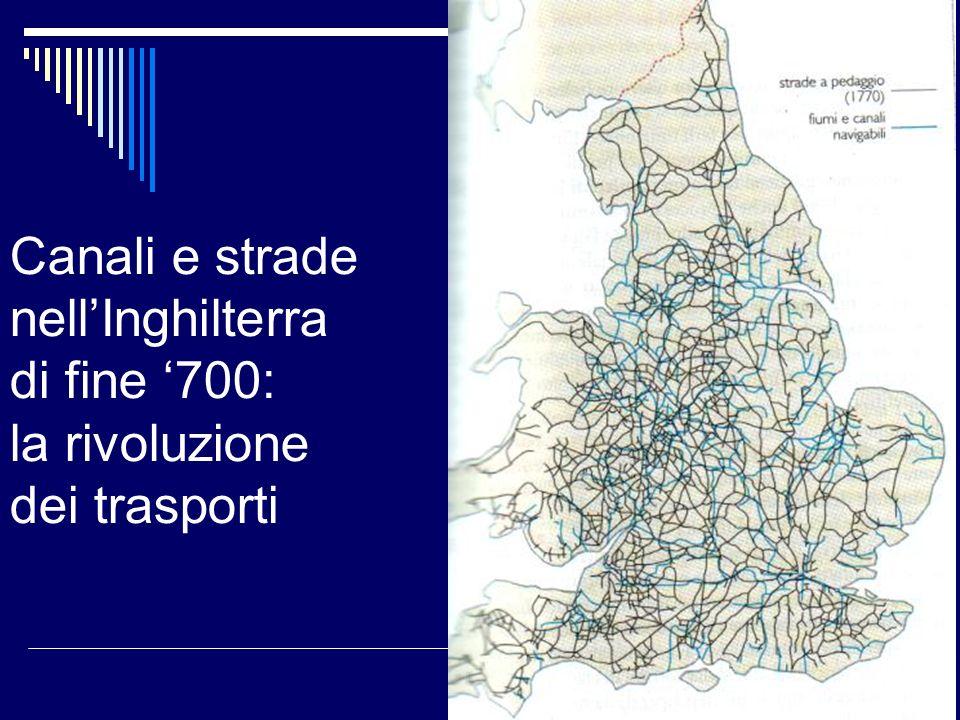Canali e strade nell'Inghilterra di fine '700: la rivoluzione dei trasporti