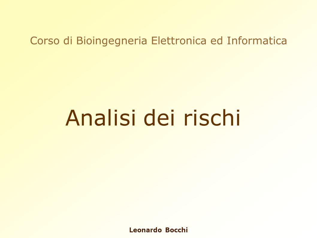 Corso di Bioingegneria Elettronica ed Informatica
