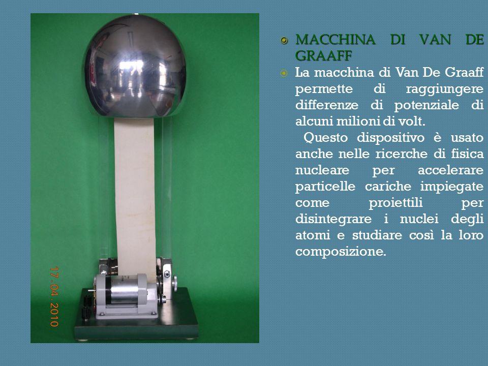 MACCHINA DI VAN DE GRAAFF