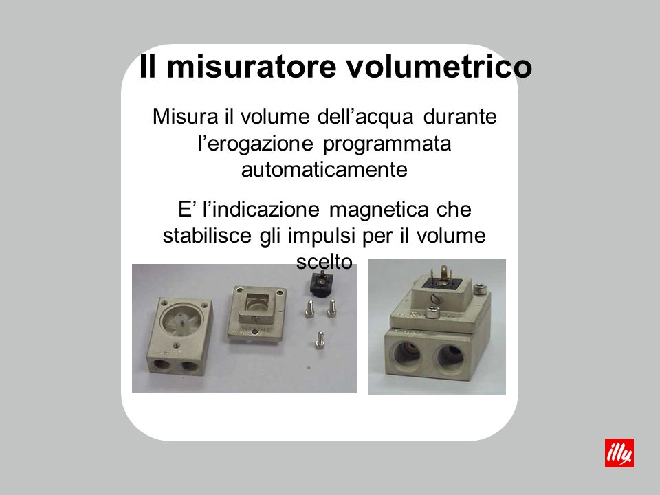 Il misuratore volumetrico