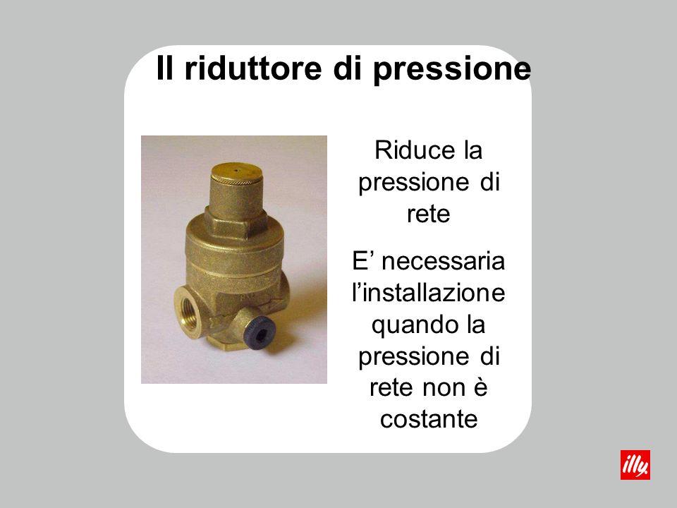 Il riduttore di pressione