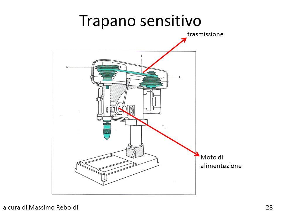 Trapano sensitivo trasmissione Moto di alimentazione