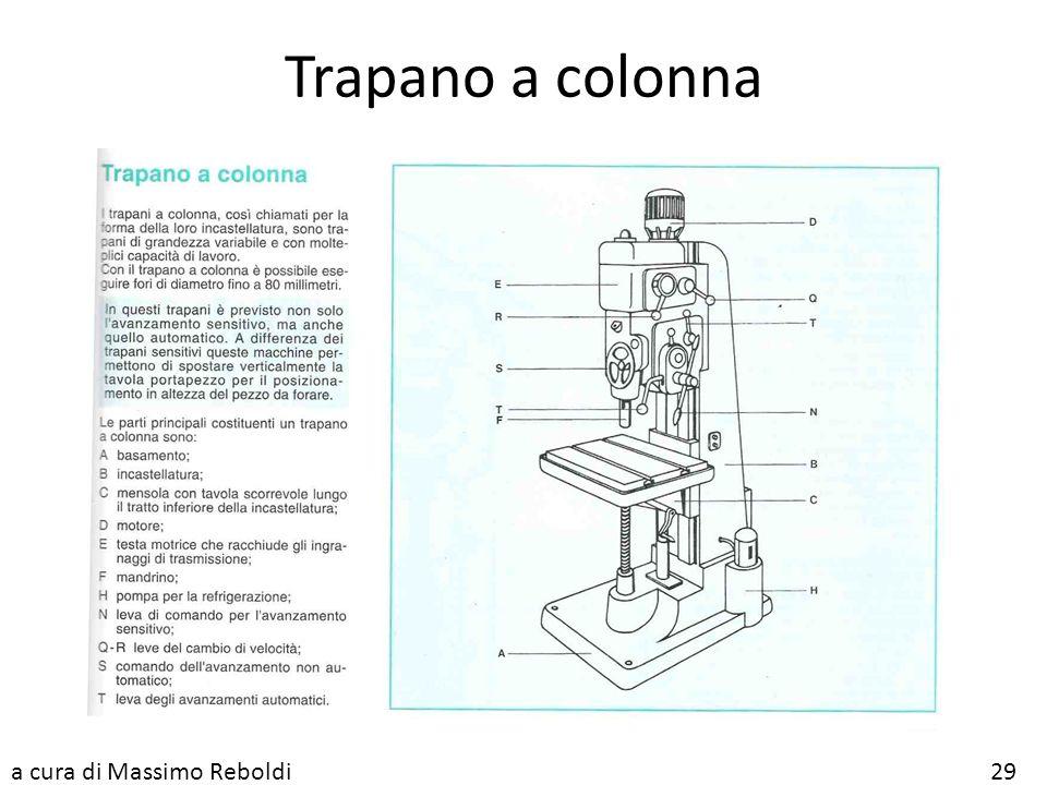 Trapano a colonna a cura di Massimo Reboldi