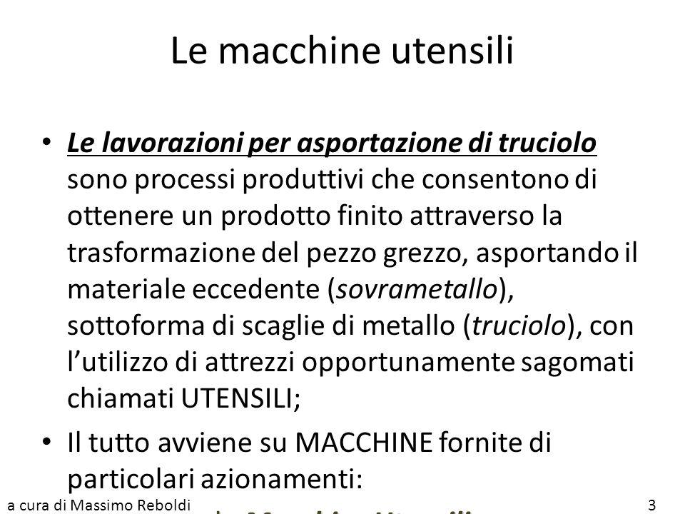 Le macchine utensili