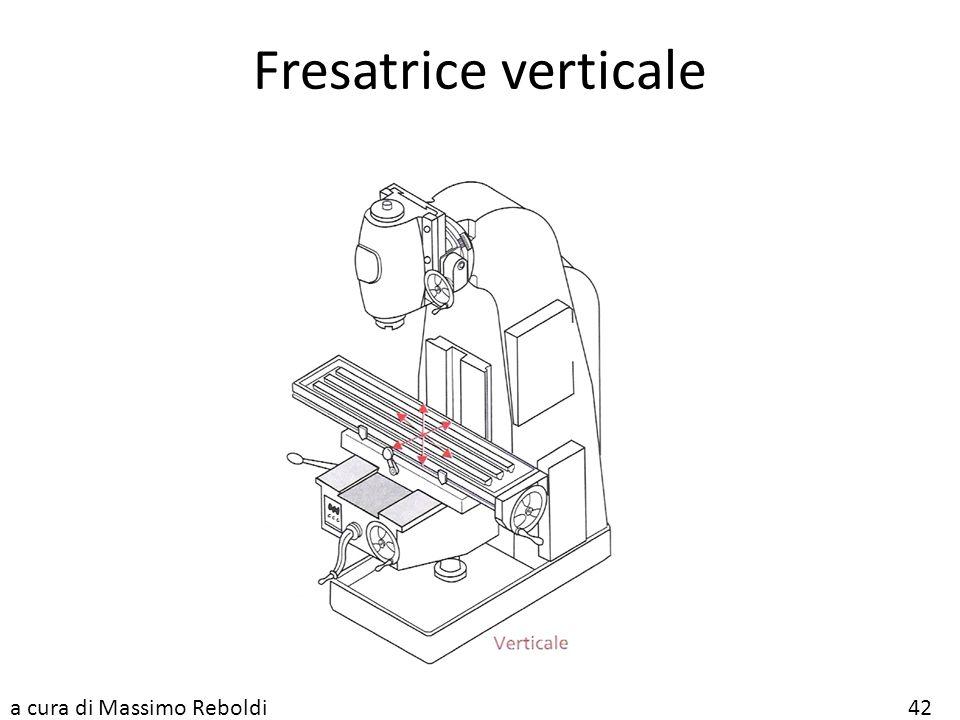 Fresatrice verticale a cura di Massimo Reboldi