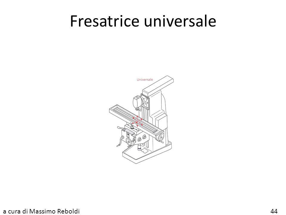 Fresatrice universale