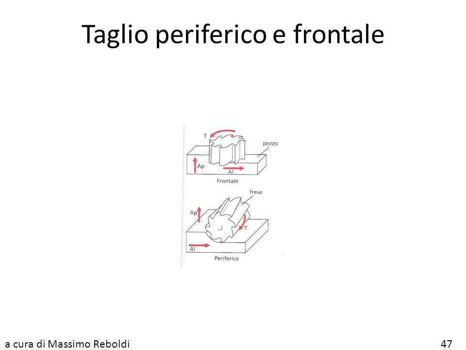Taglio periferico e frontale