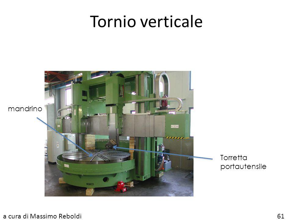 Tornio verticale mandrino Torretta portautensile