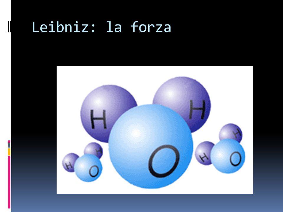 Leibniz: la forza