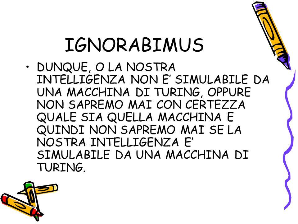 IGNORABIMUS