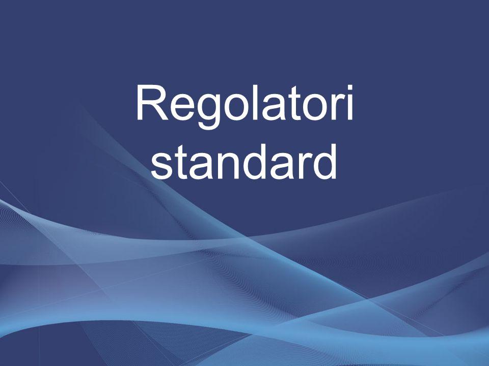 Regolatori standard