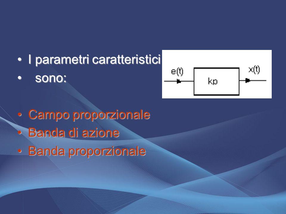 I parametri caratteristici