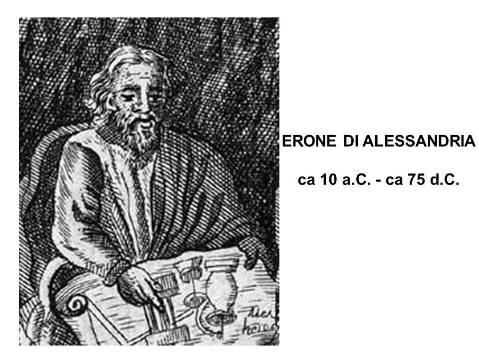 ERONE DI ALESSANDRIA ca 10 a.C. - ca 75 d.C.