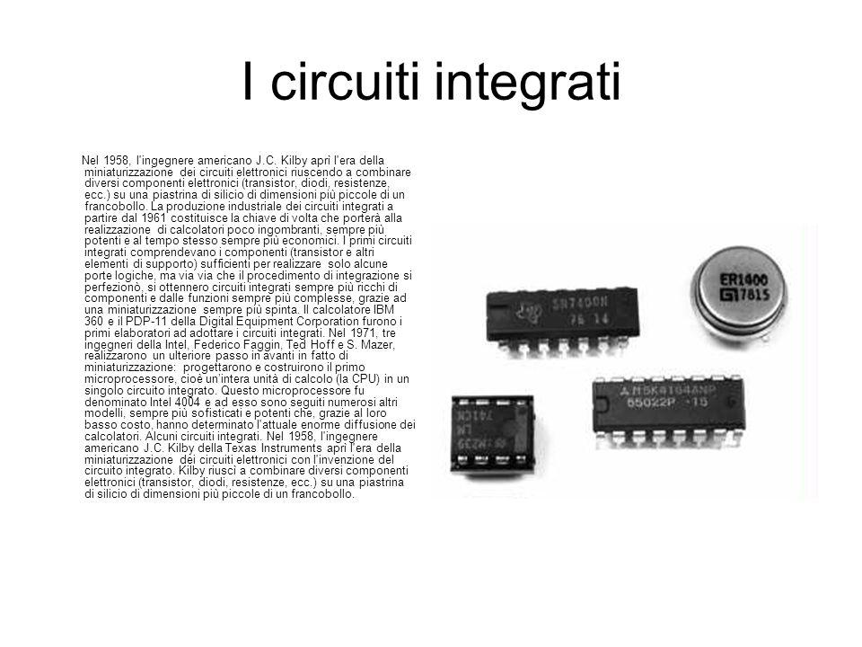 I circuiti integrati