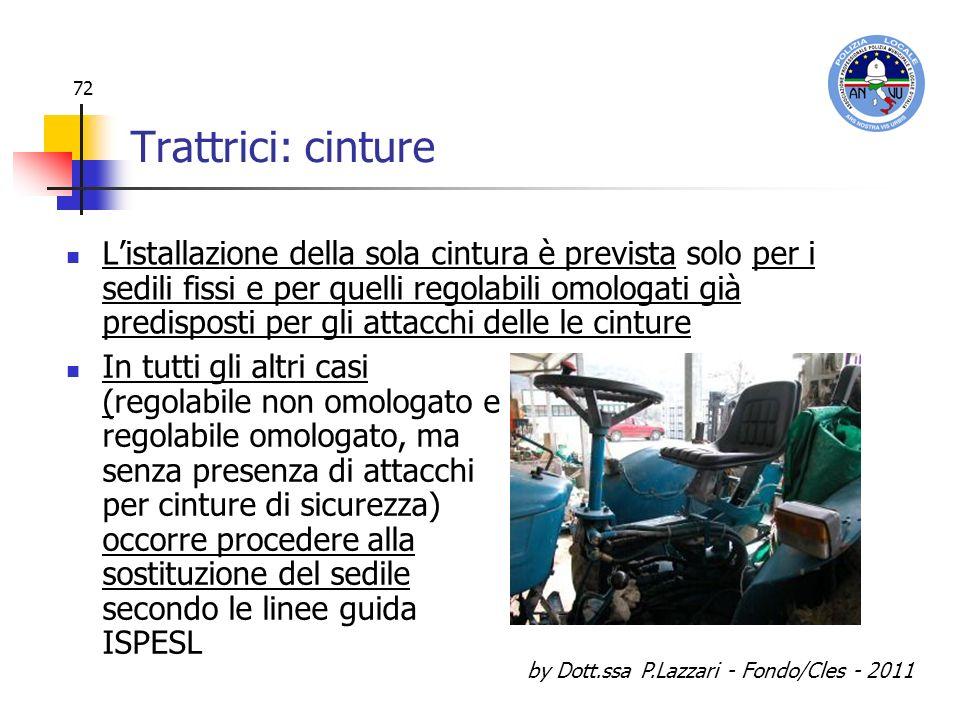 by Dott.ssa P.Lazzari - Fondo/Cles - 2011