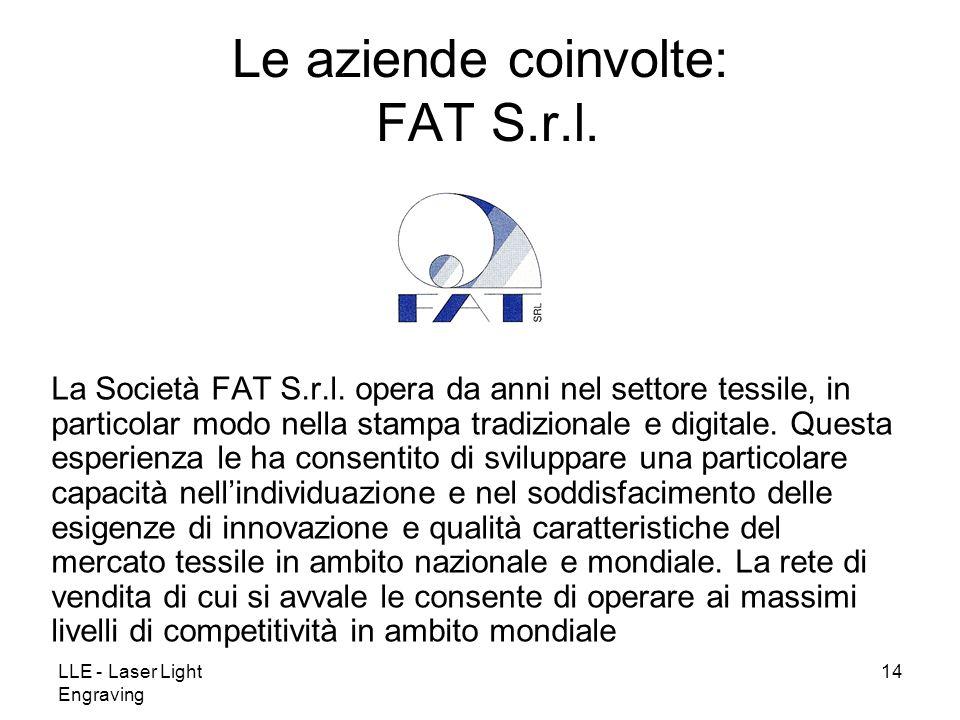 Le aziende coinvolte: FAT S.r.l.