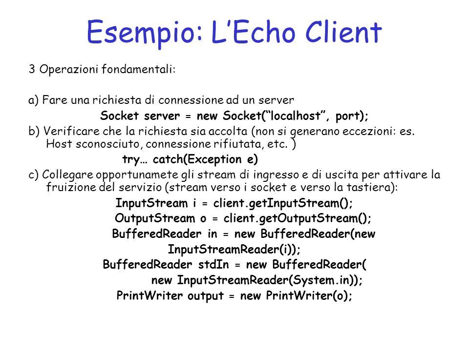 Esempio: L'Echo Client