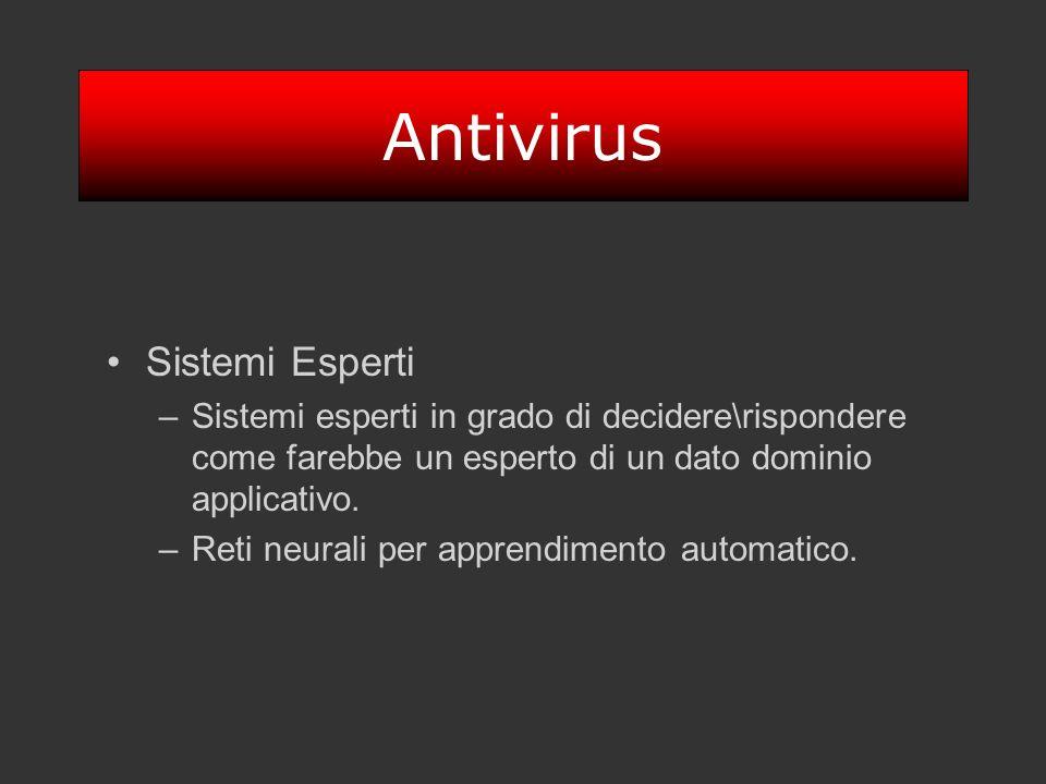Antivirus Sistemi Esperti