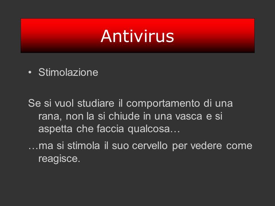 Antivirus Stimolazione