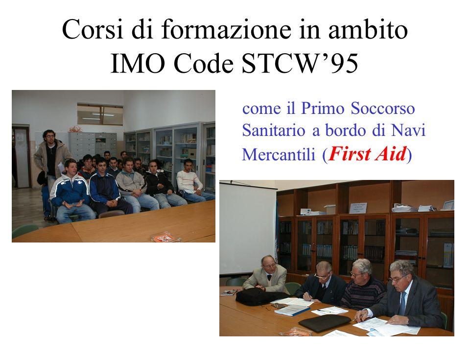 Corsi di formazione in ambito IMO Code STCW'95