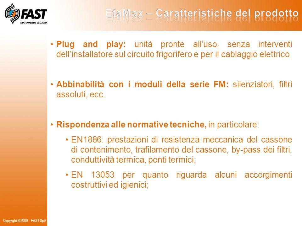 EtaMax – Caratteristiche del prodotto