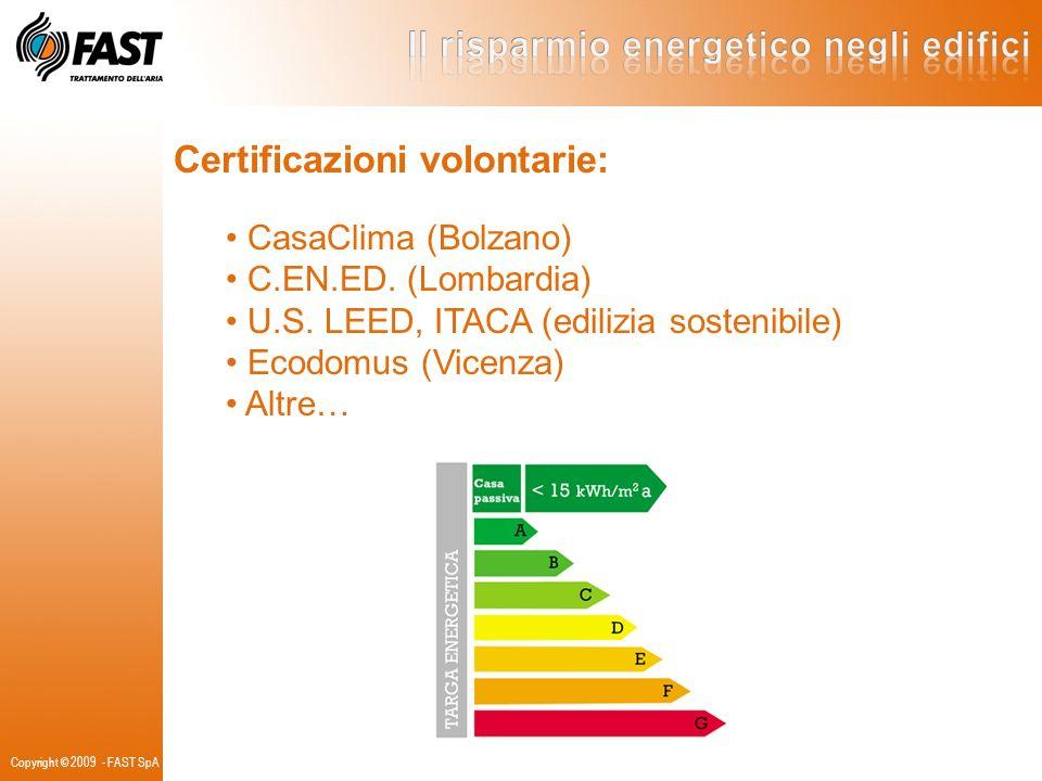 Certificazioni volontarie: