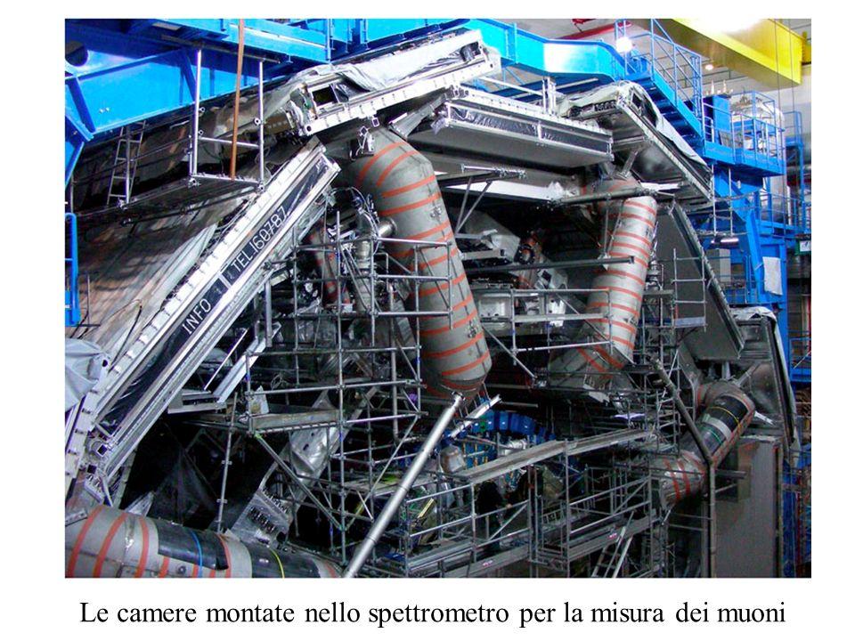 Le camere montate nello spettrometro per la misura dei muoni
