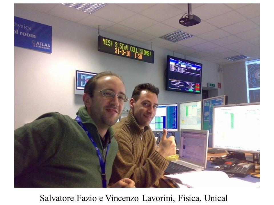 Salvatore Fazio e Vincenzo Lavorini, Fisica, Unical