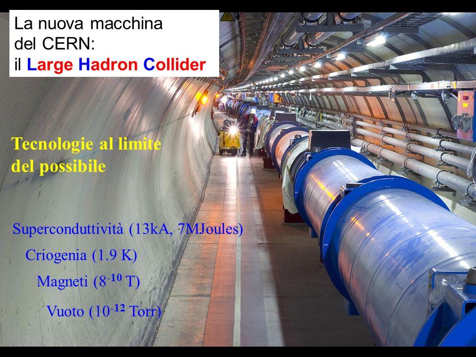 Tecnologie al limite del possibile La nuova macchina del CERN: