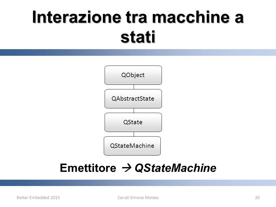 Interazione tra macchine a stati