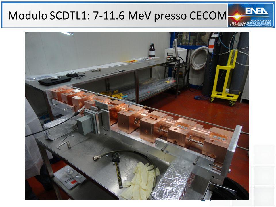 Modulo SCDTL1: 7-11.6 MeV presso CECOM