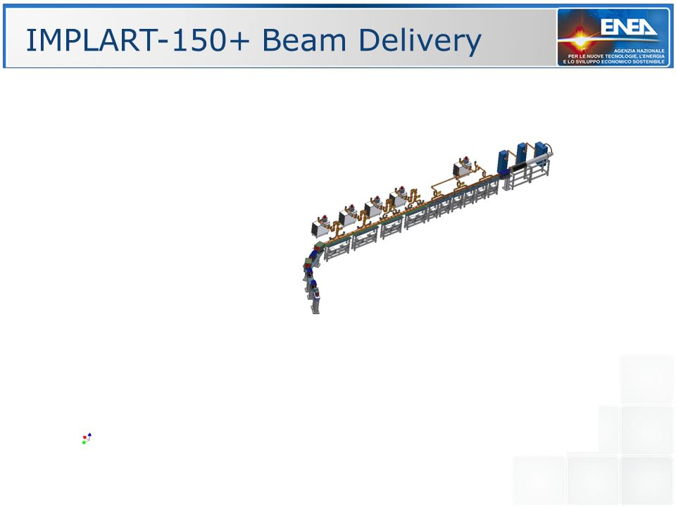 IMPLART-150+ Beam Delivery