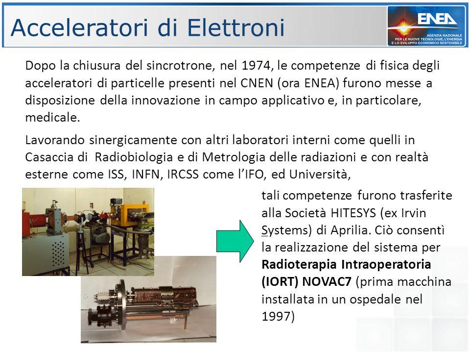 Acceleratori di Elettroni
