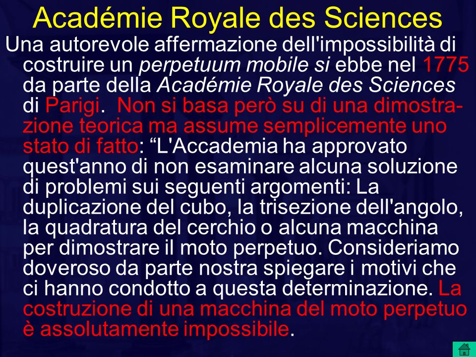Académie Royale des Sciences