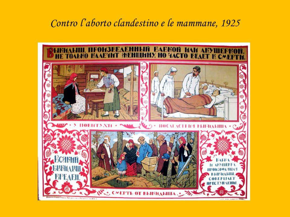 Contro l'aborto clandestino e le mammane, 1925