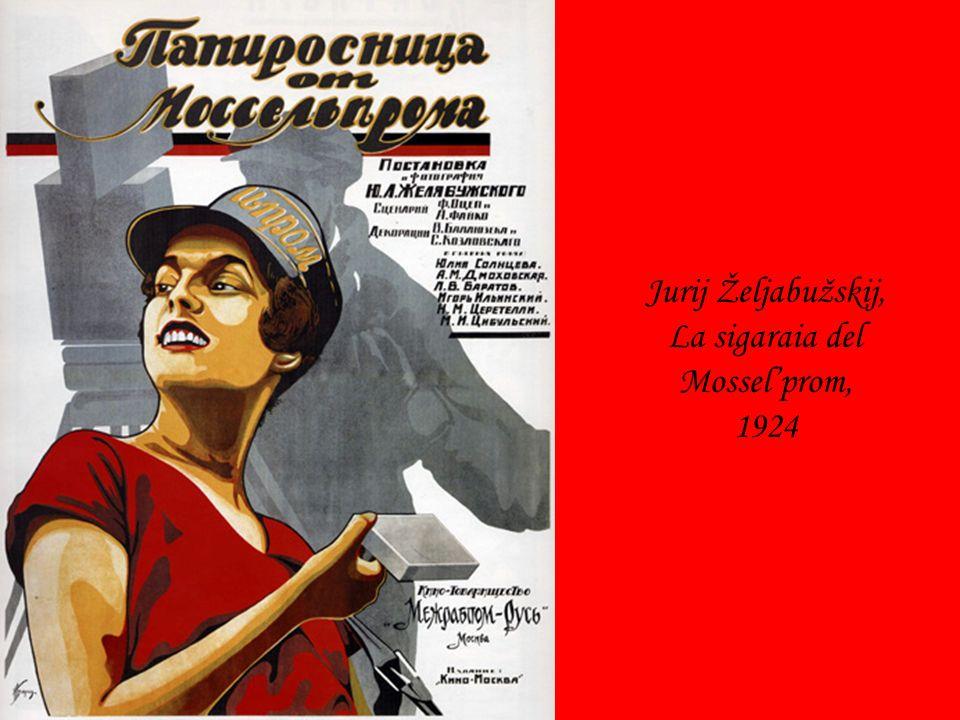 Jurij Željabužskij, La sigaraia del Mossel'prom, 1924