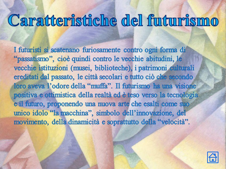 Caratteristiche del futurismo