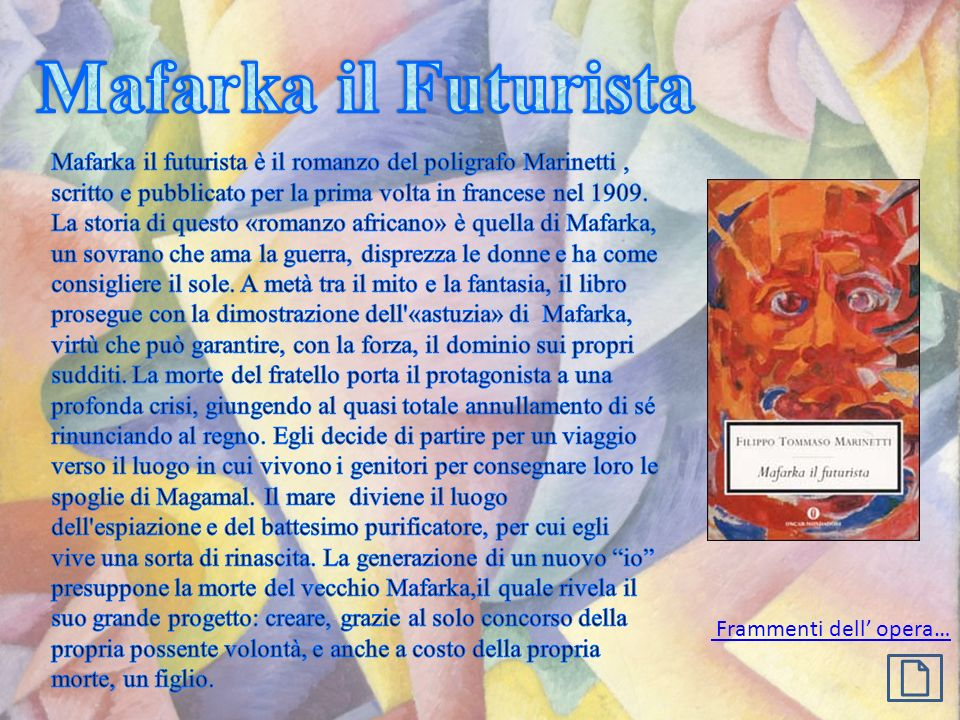 Mafarka il Futurista