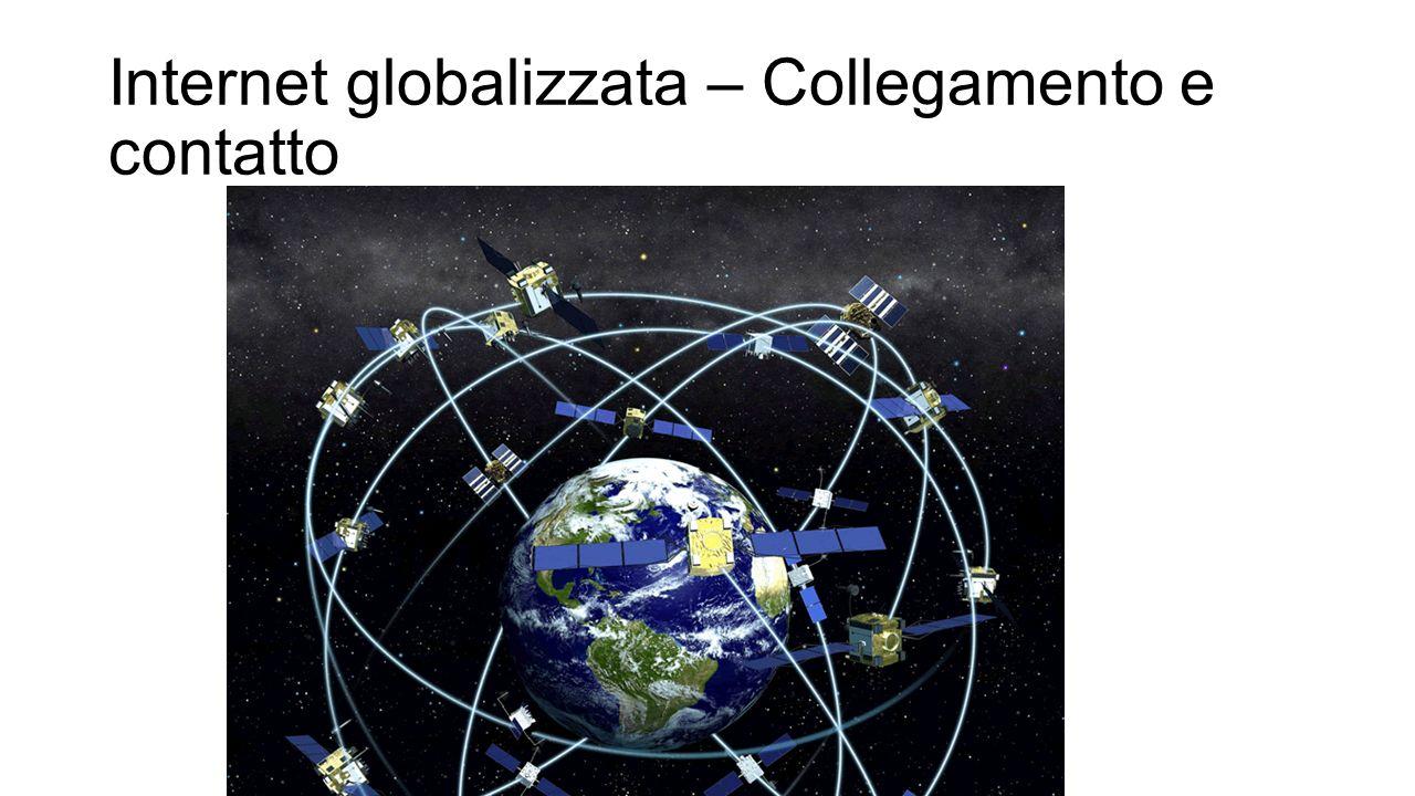 Internet globalizzata – Collegamento e contatto
