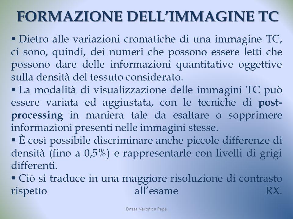 FORMAZIONE DELL'IMMAGINE TC