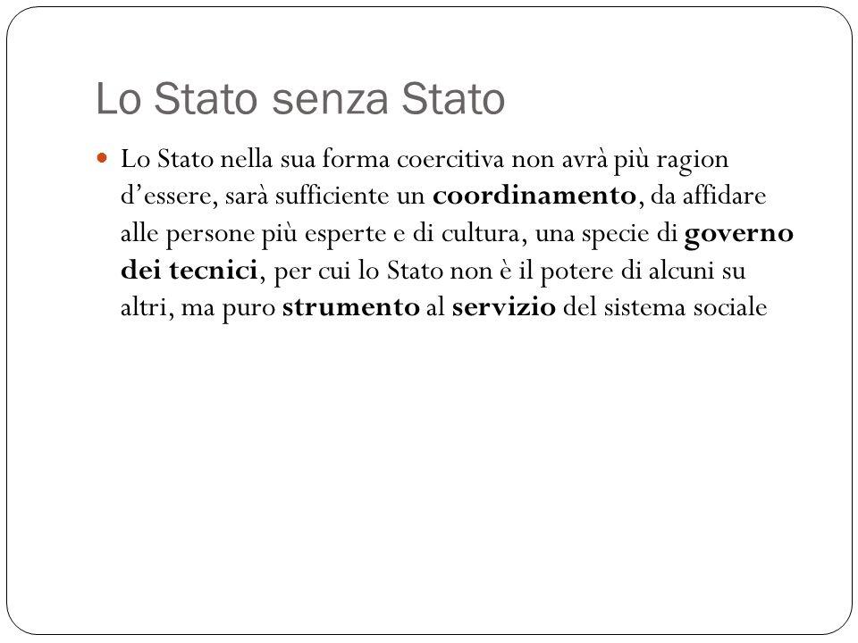 Lo Stato senza Stato