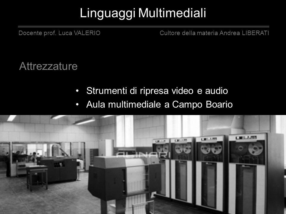 Linguaggi Multimediali