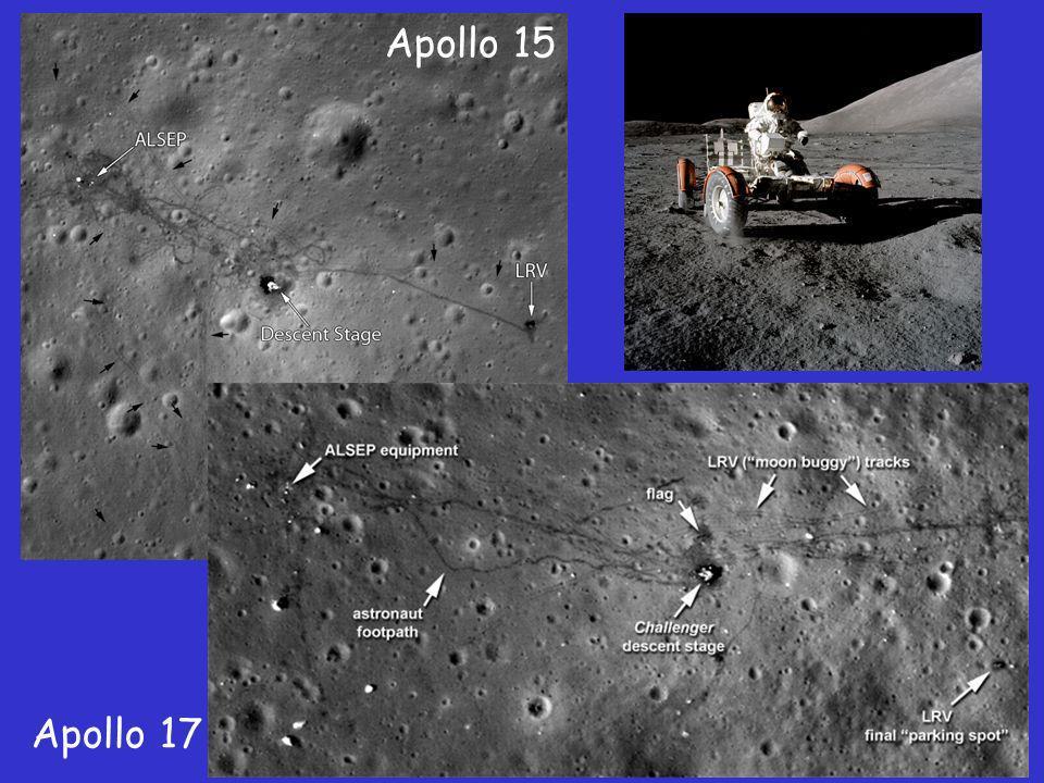 Apollo 15 Apollo 17