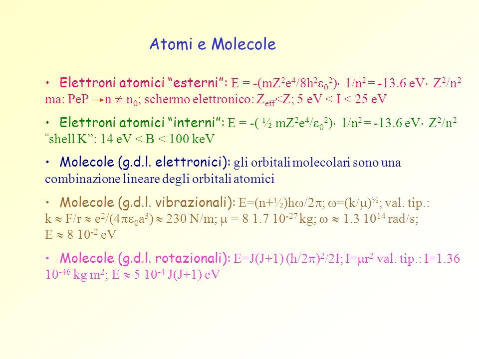 Atomi e Molecole