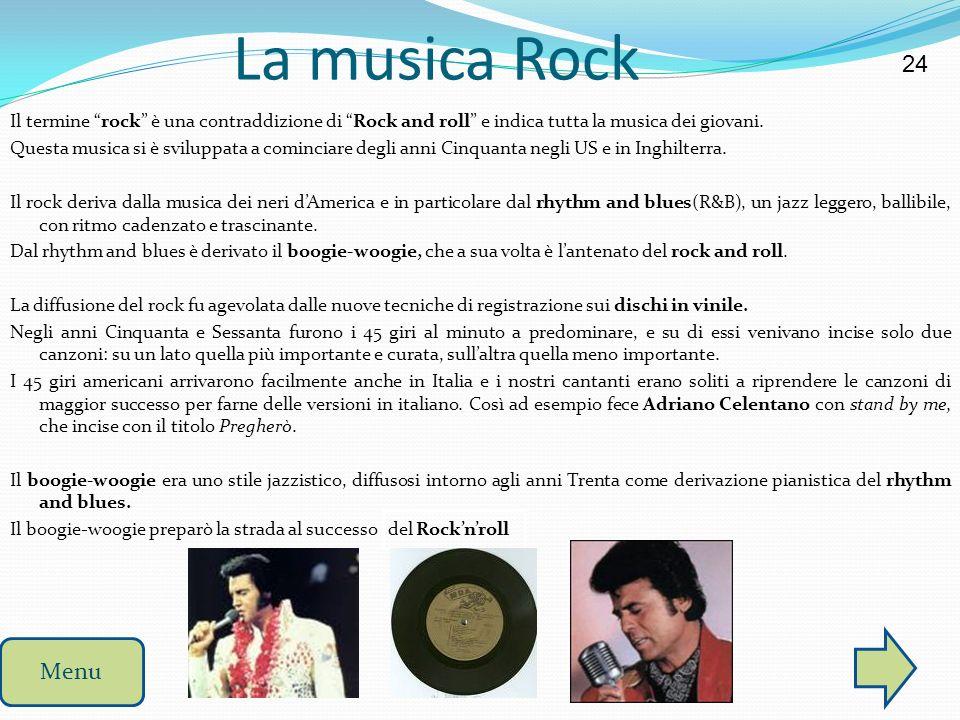 La musica Rock 24.