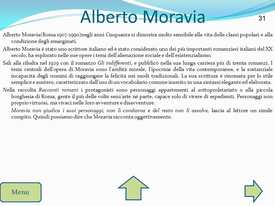 Alberto Moravia 31.