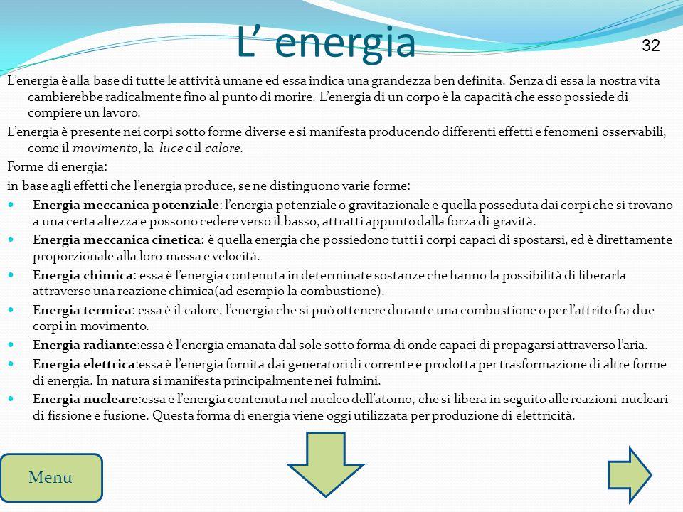 L' energia 32.