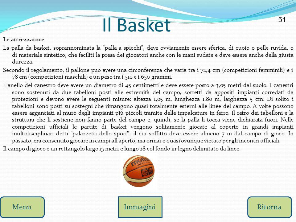 Il Basket 51 Menu Immagini Ritorna