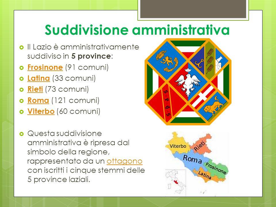 Suddivisione amministrativa